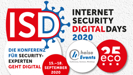 Internet Security Days - Online Konferenz 2020