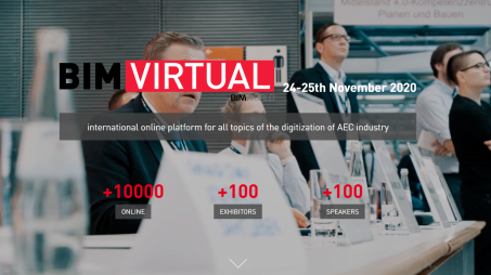 BIM Virtual 2020 - die BIM World Online